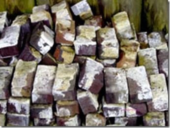 pile of old bricks